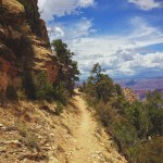 Steep slopes and a narrow trailbed make Grandview a challenging hike