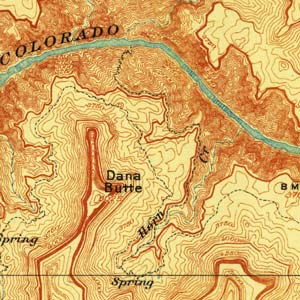 Thumbnail image of early 20th-Century Grand Canyon map