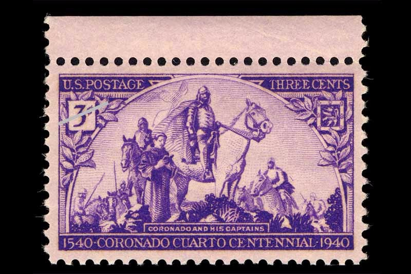 1940-coronado-expedition-400th-anniversary-three-cent-stamp